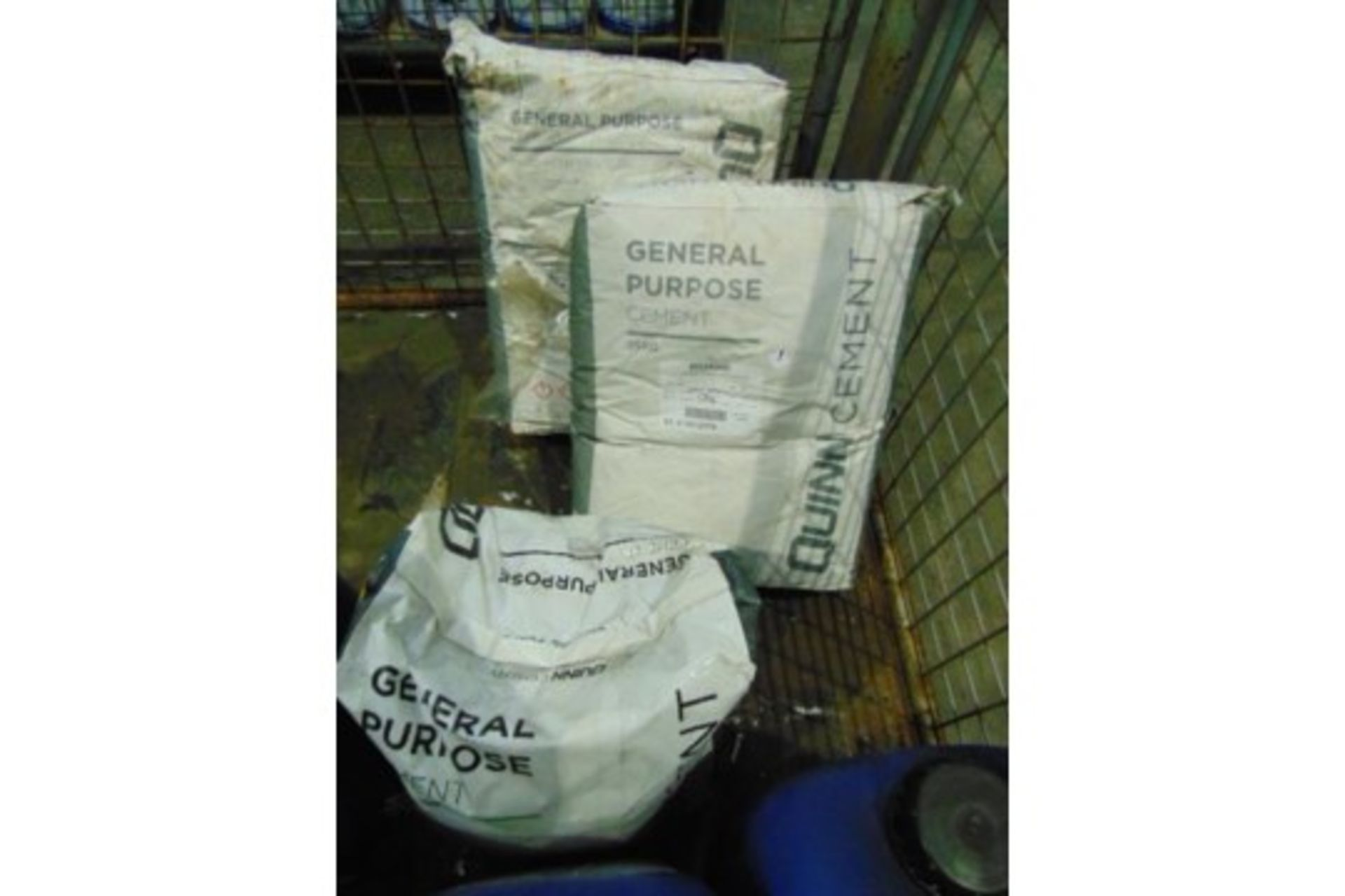 Lot 26609 - 3 x 25 Kg Bags of Cement