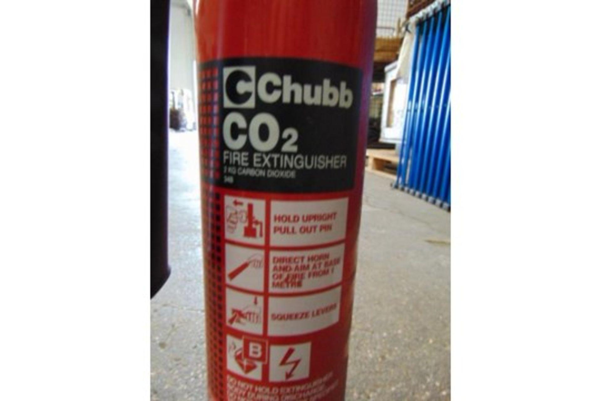 Lot 25823 - 11 x Chubb 2KG CO2 Fire Extinguishers