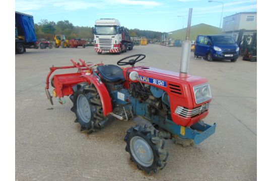 You are bidding on a Shibaura SU1341 4WD Compact Tractor c/w
