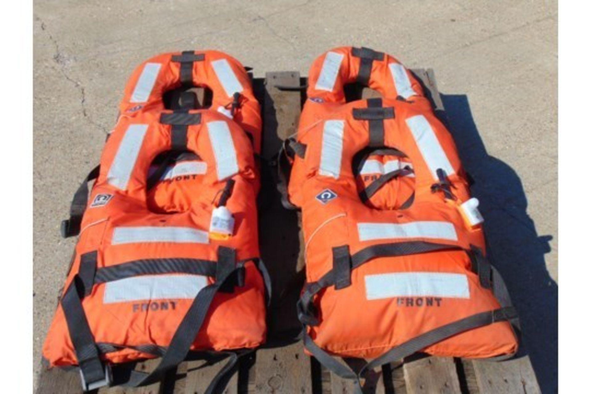 Lot 25863 - 4 x Crewsaver 150N Air Foam Lifejackets