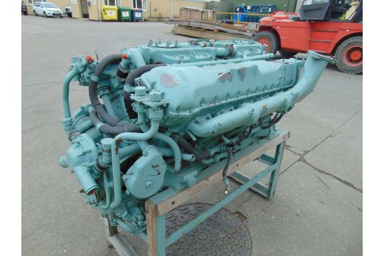 You are bidding direct from the MOD a 650 HP Rolls Royce V12