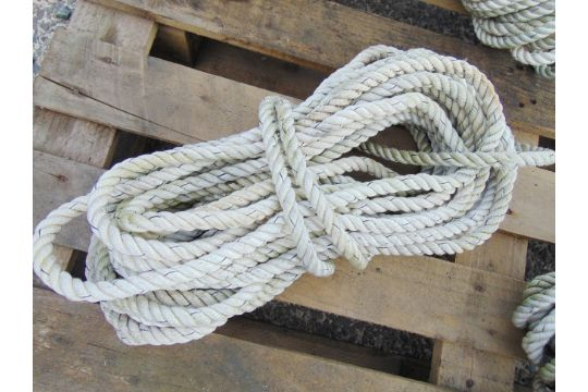 You are bidding on 5 x Light Ship Mooring Rope Assys  These