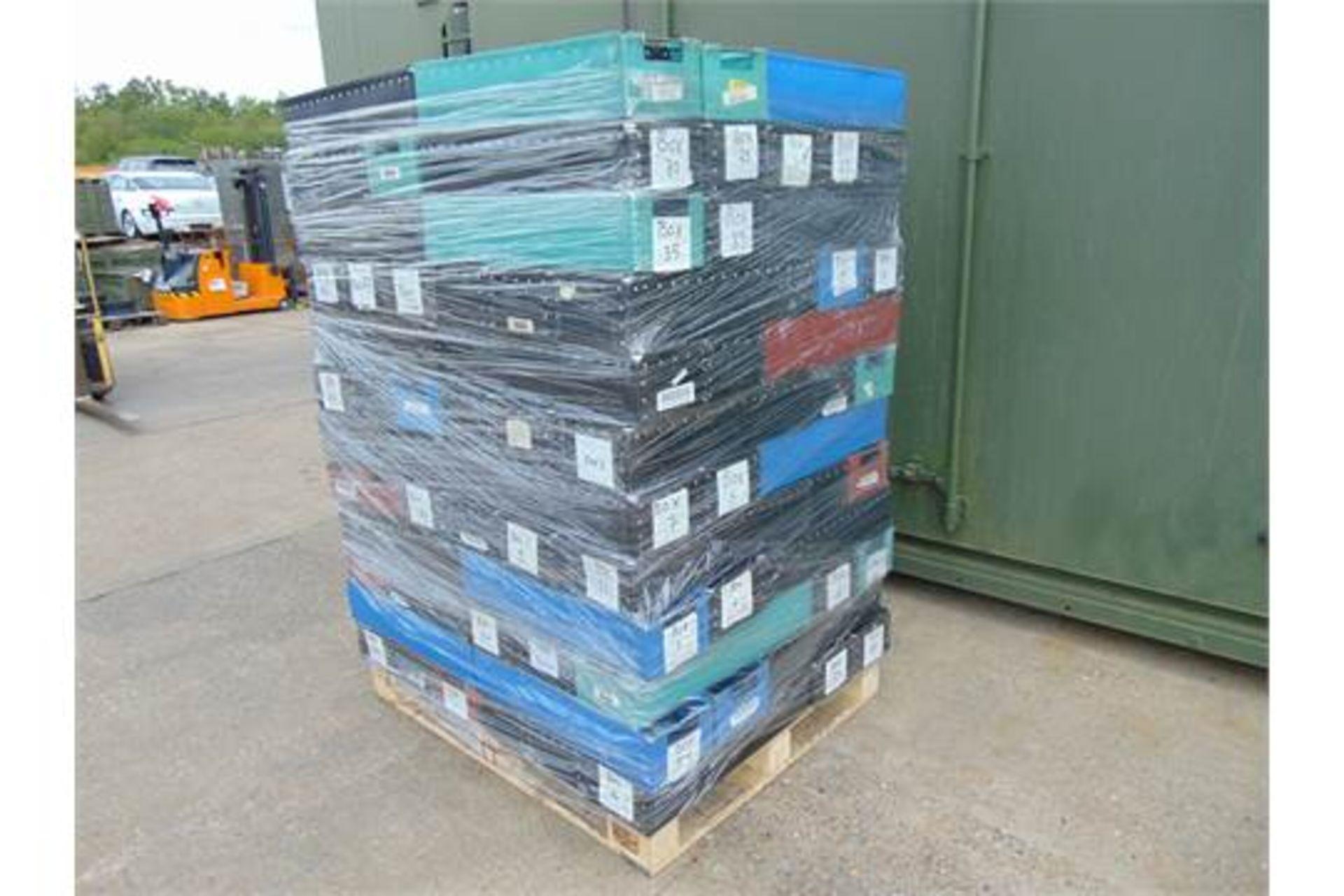 Lot 26841 - 120 x Heavy Duty Tote Storage Boxes