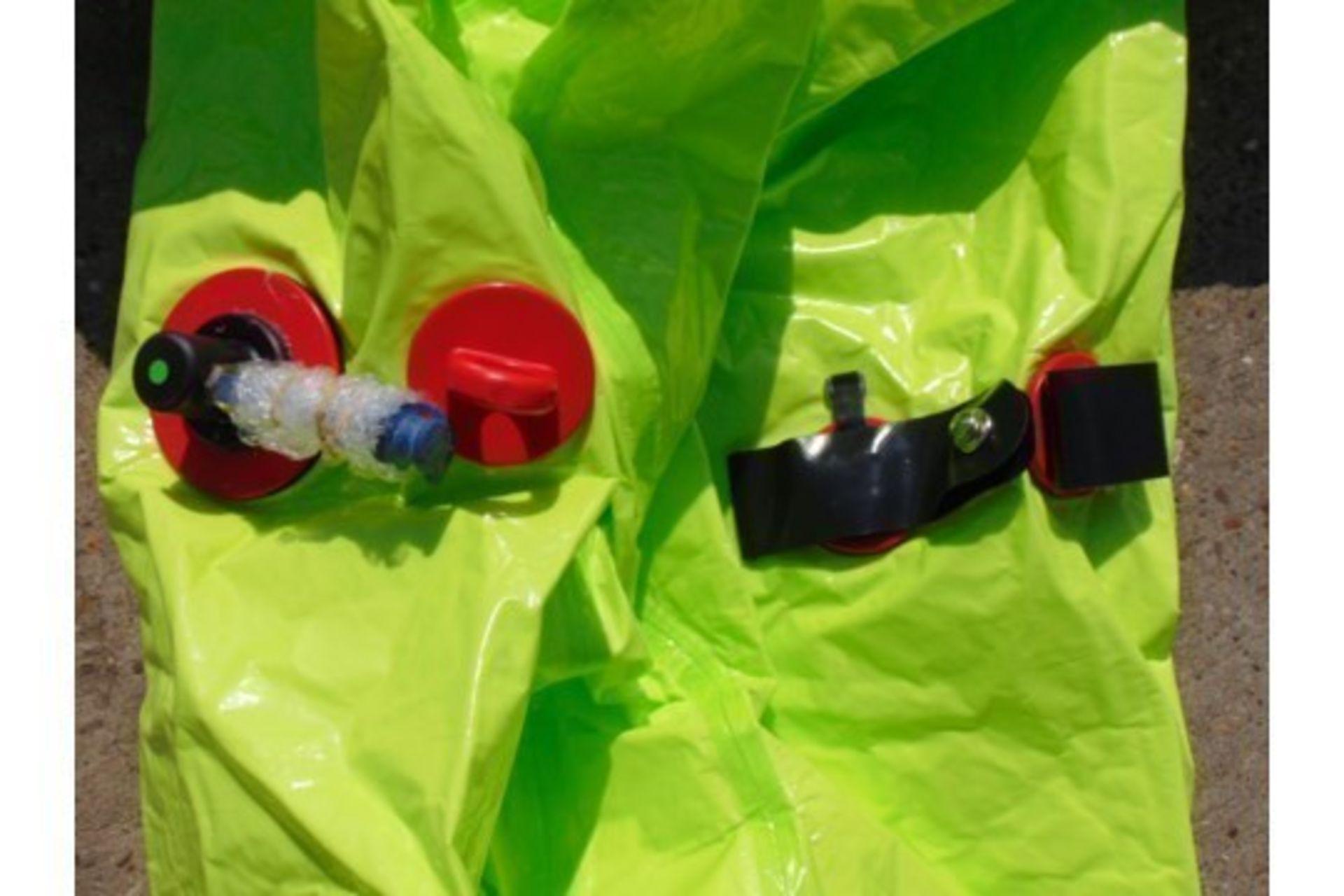 Lot 26807 - Q10 x Unissued Respirex Tychem TK Gas-Tight Hazmat Suit. Size XL