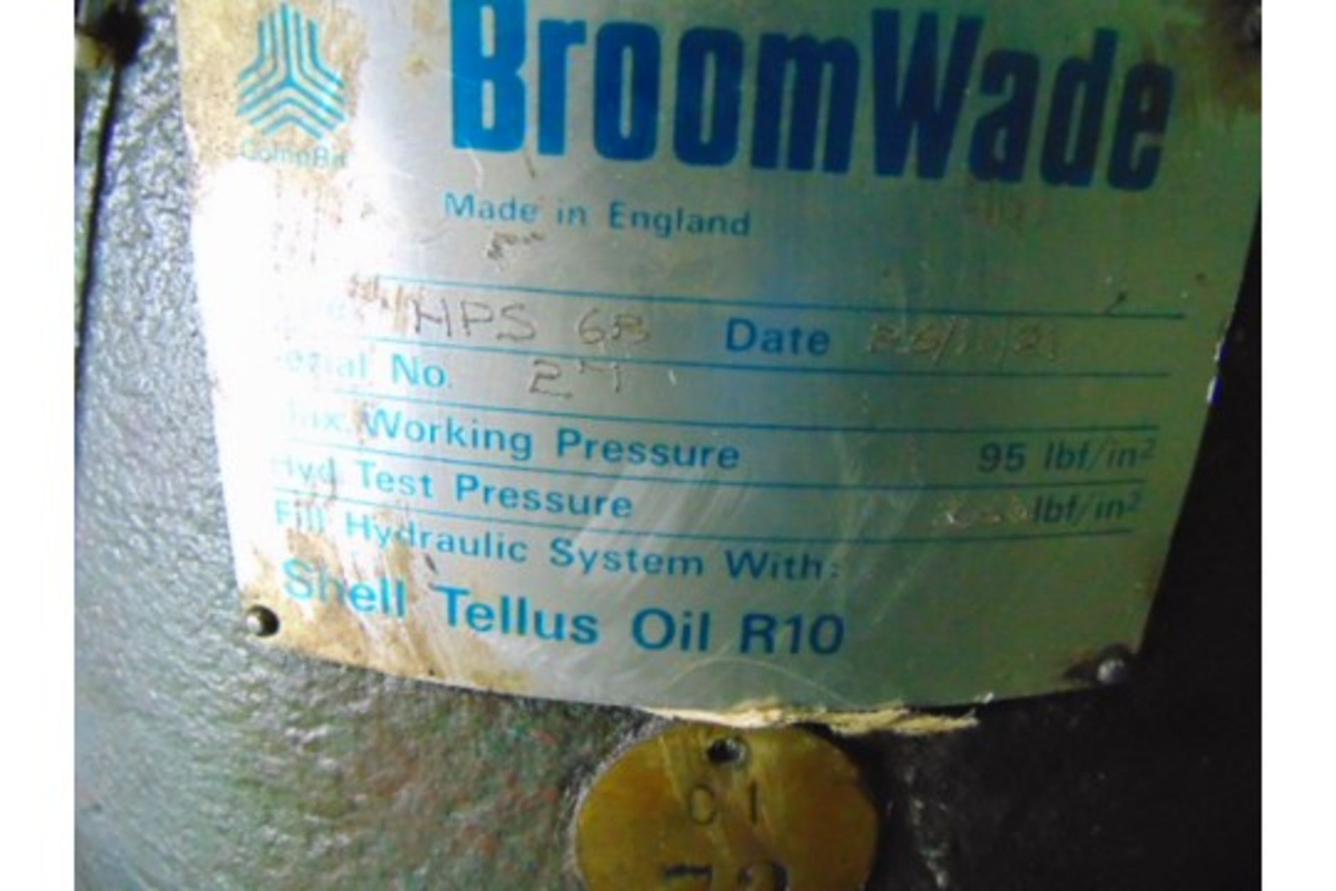 Lot 27207 - Broomwade HPS 6B Horizontal Pumping System