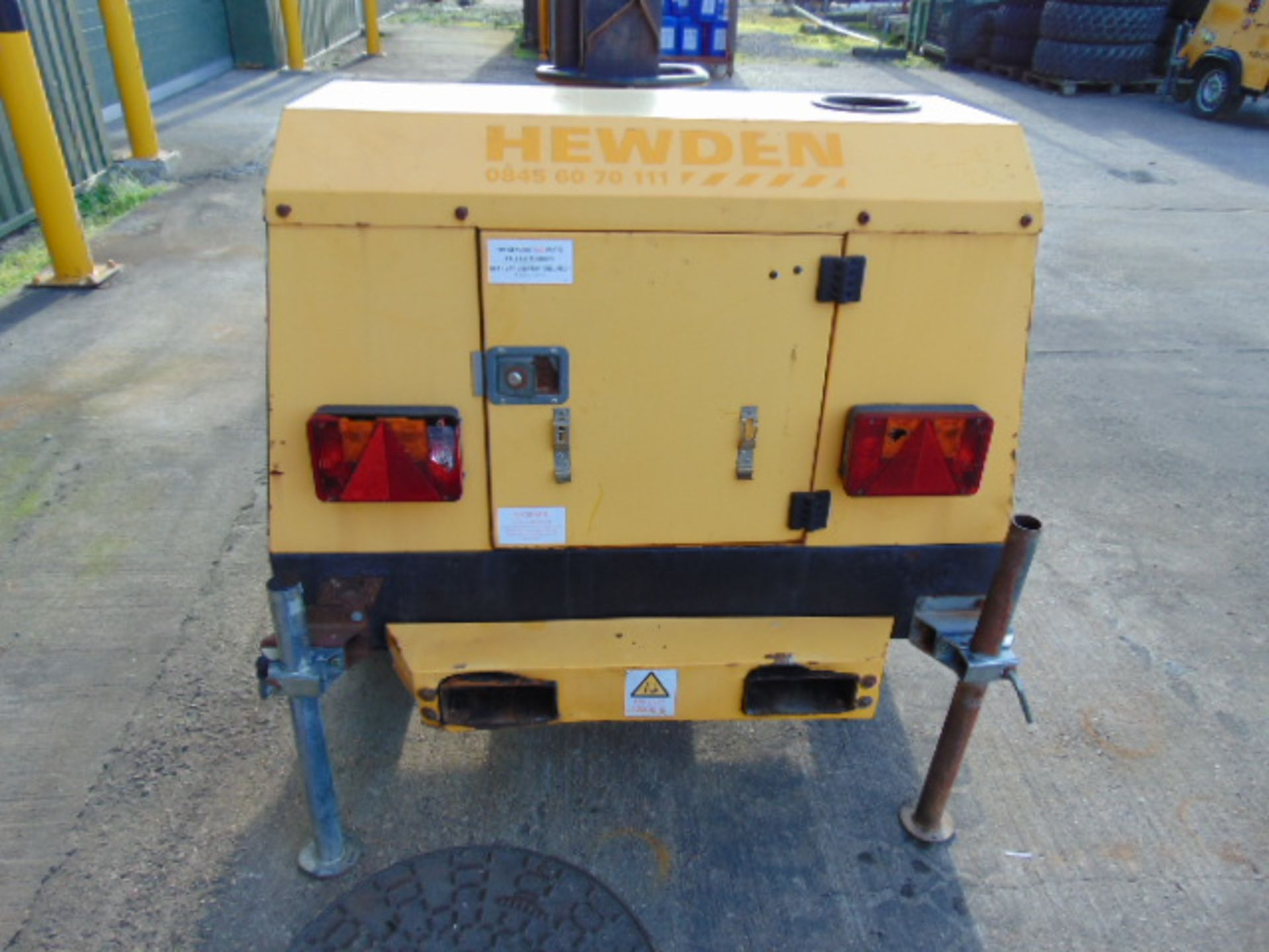 Lot 25834 - SMC TL90 Perkins Diesel Powered Trailer Mounted Lighting Tower