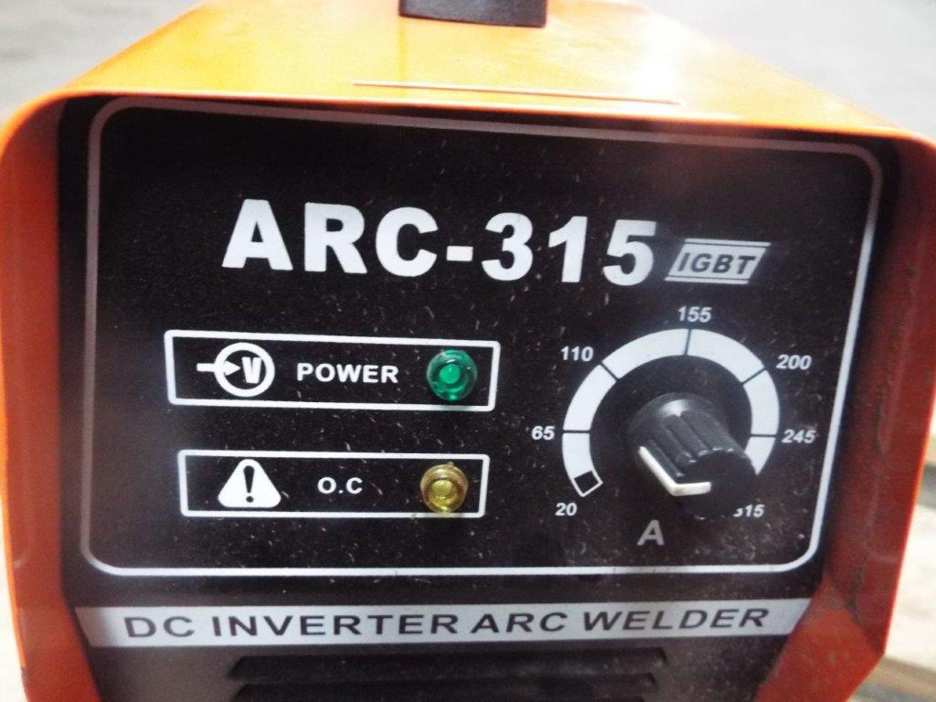 Lotto 20986 - IGBT ARC-315 DC Inverter Arc Welder