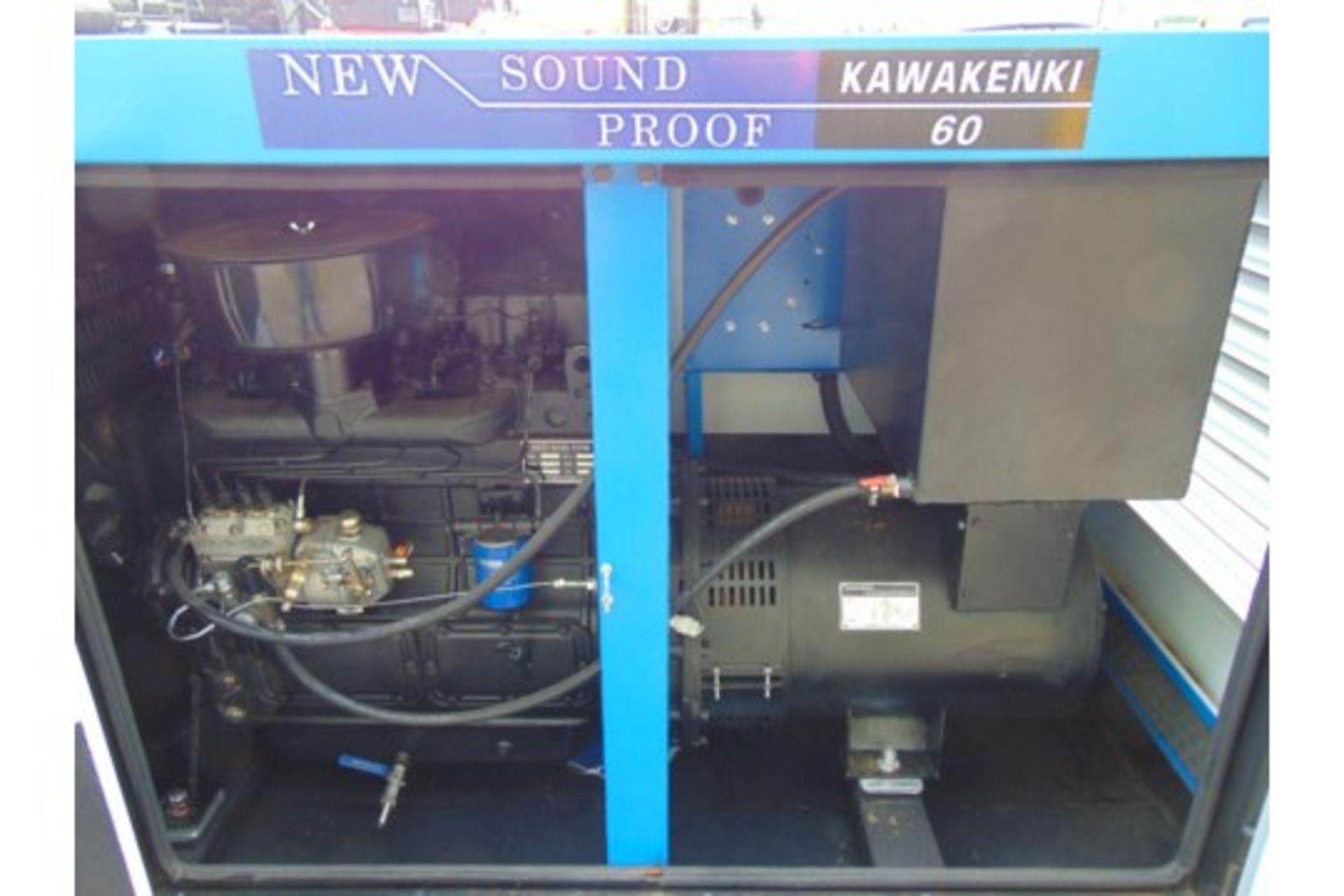Lot 26617 - UNISSUED 60 KVA 3 Phase Silent Diesel Generator Set