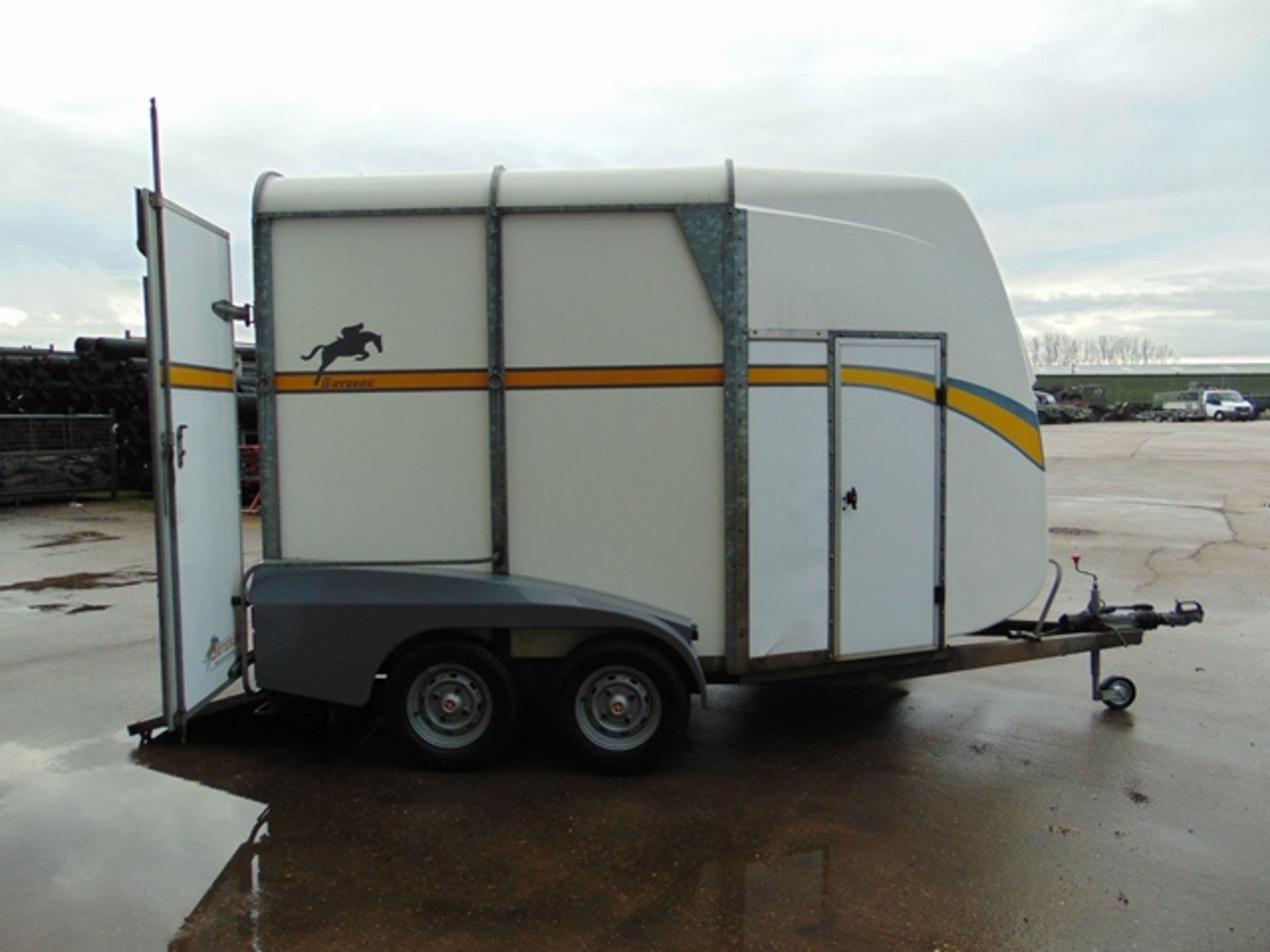Lot 26847 - Bateson Ascot Twin Axle 2 Horse Trailer