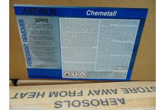 You are bidding on 24 x Boxes of Ardrox Penetrant Remover