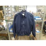 RAF Bomber Jacket with Removable Liner, Size XL