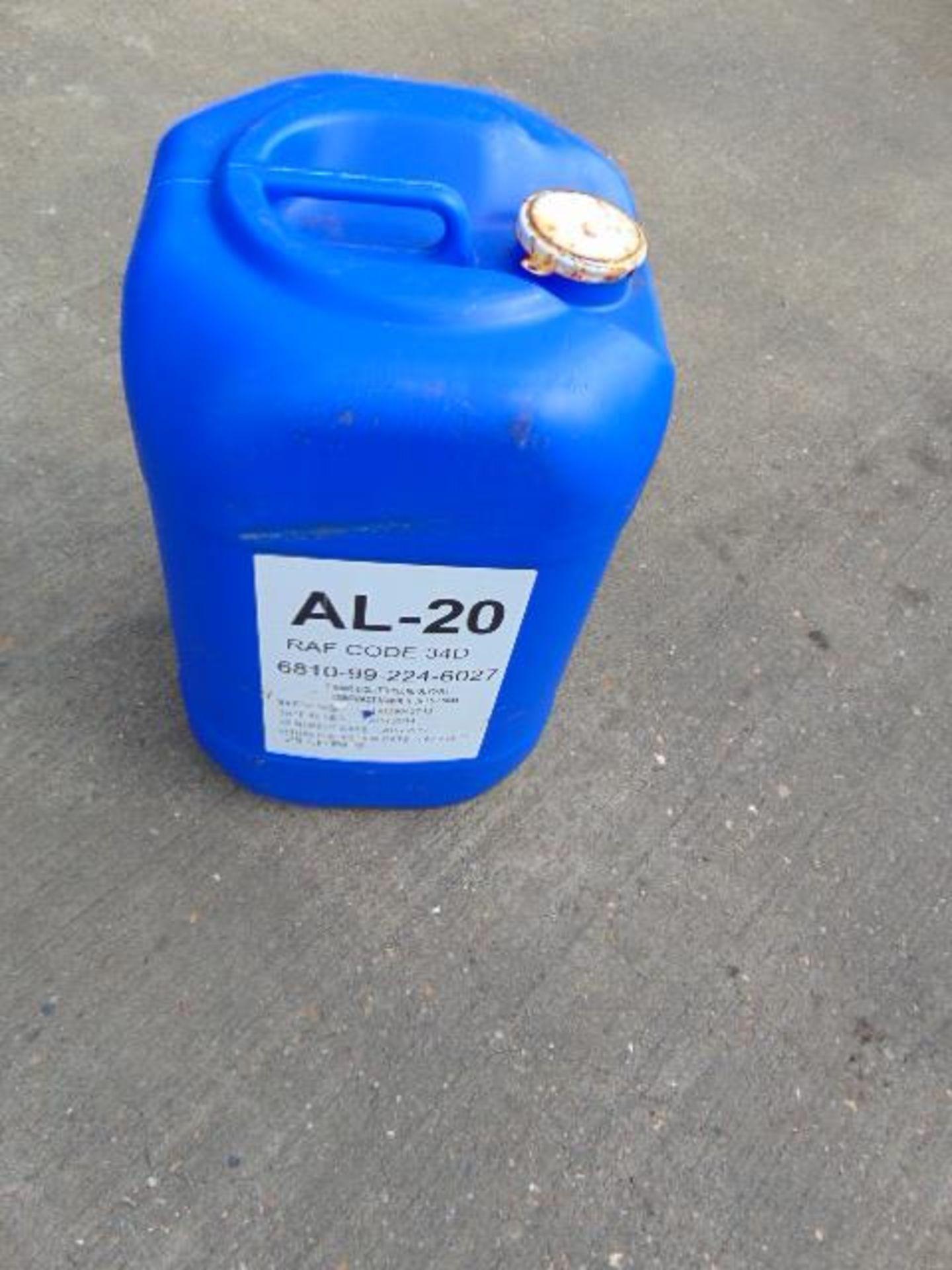 Lot 25826 - 4 x 25ltr AL20 Anti-Freeze