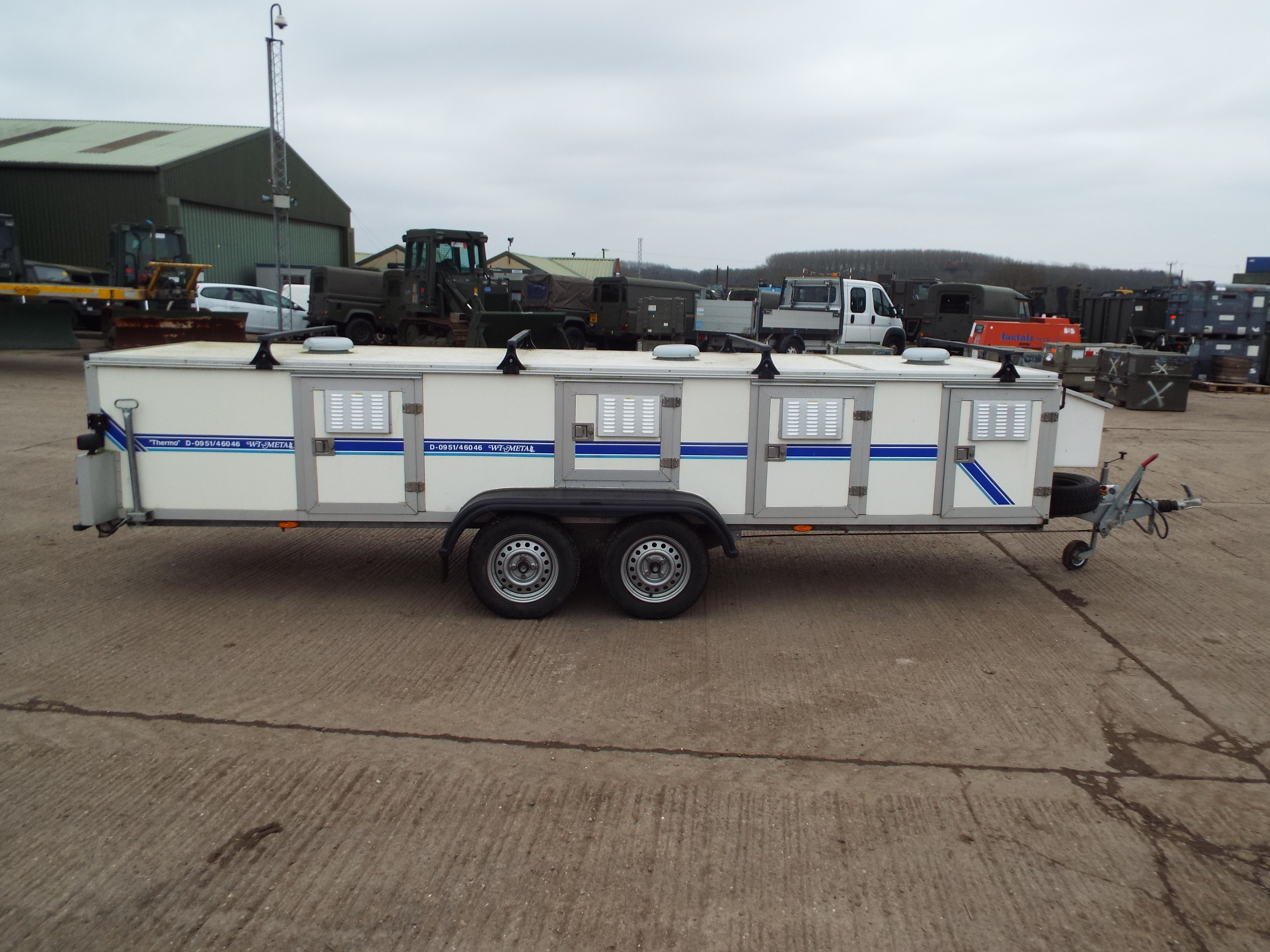 Wt Metall Dog Trailer For Sale Uk