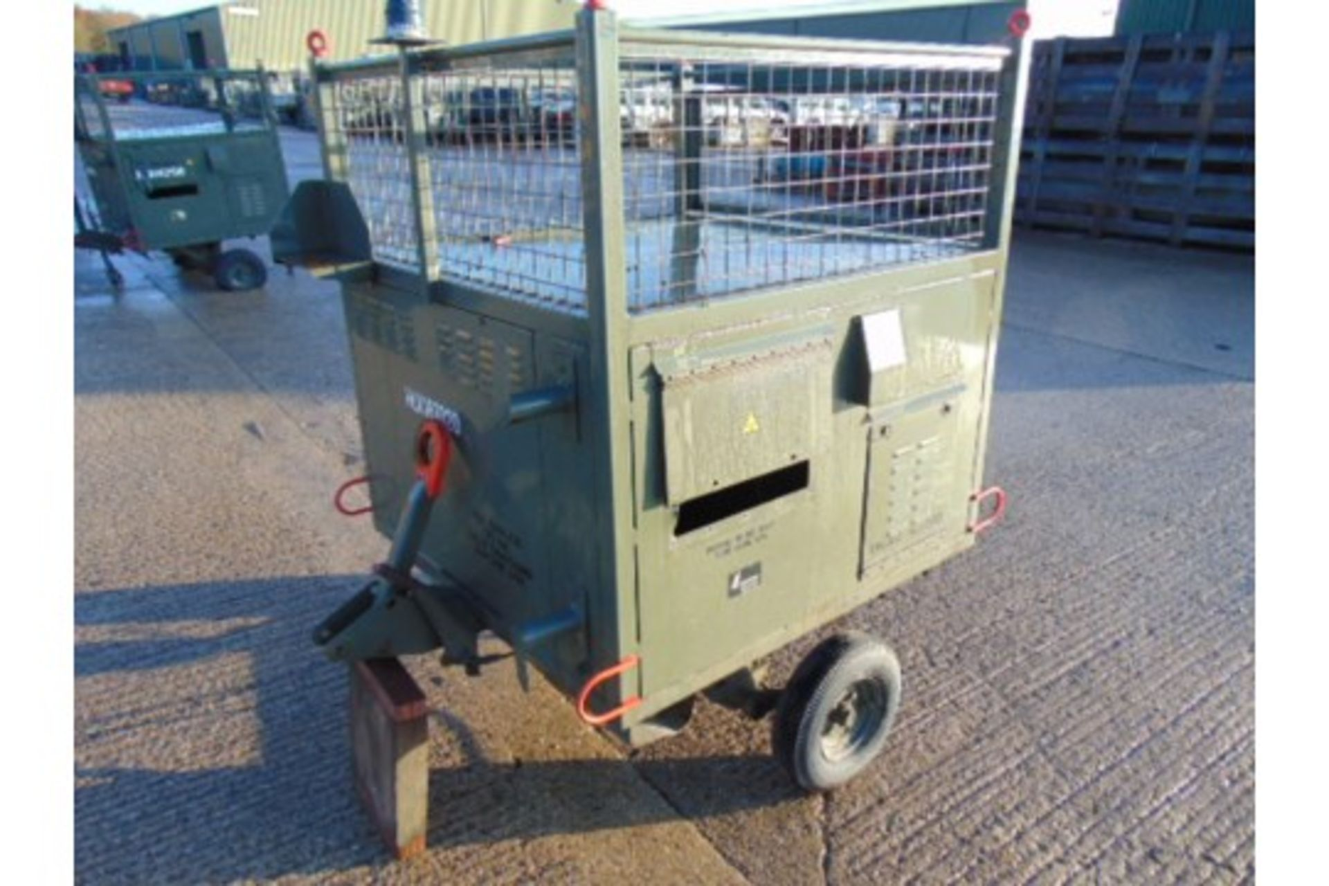 Lot 27198 - Single Axle ATV/Quad Box / Tool Trailer