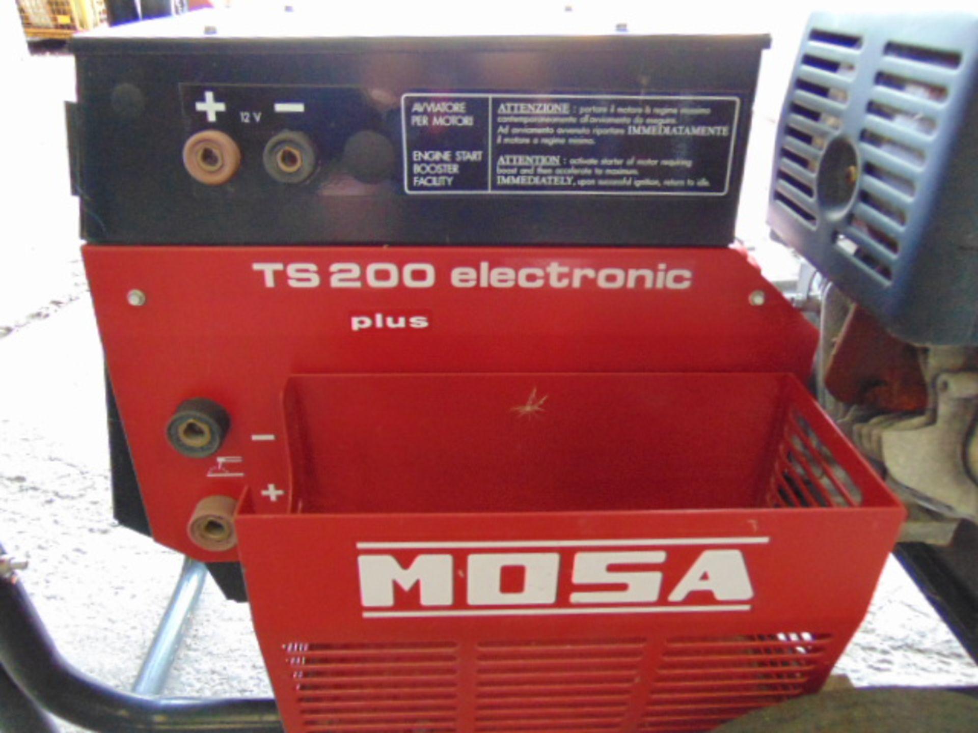 Lotto 16009 - Mosa TS200 Petrol Welder Generator