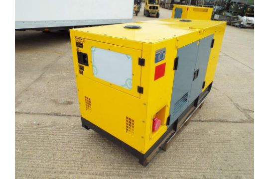 You are bidding on a UNISSUED WITH TEST HOURS ONLY 30 KVA 3