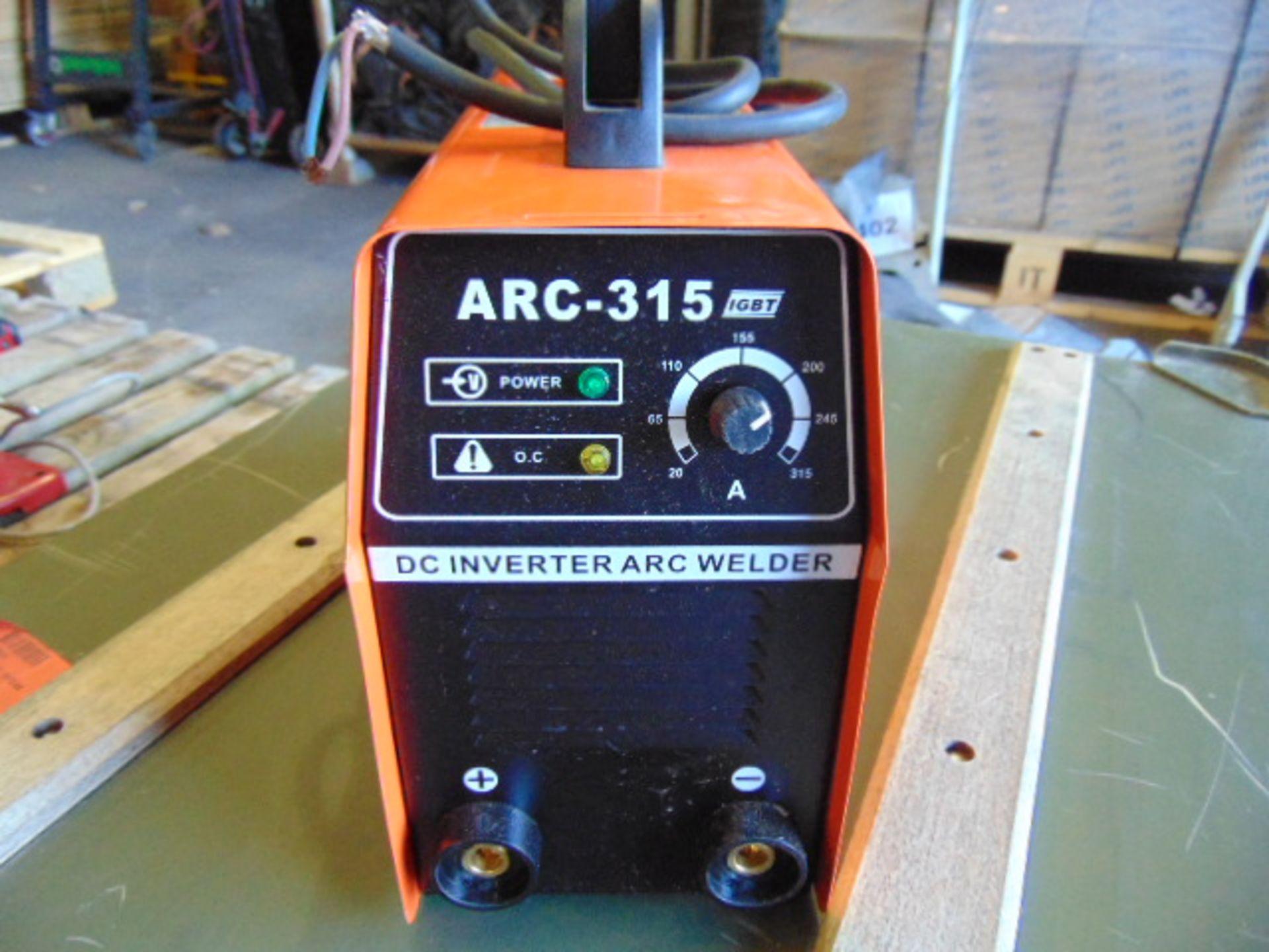 Lotto 22844 - IGBT ARC-315 DC Inverter Arc Welder