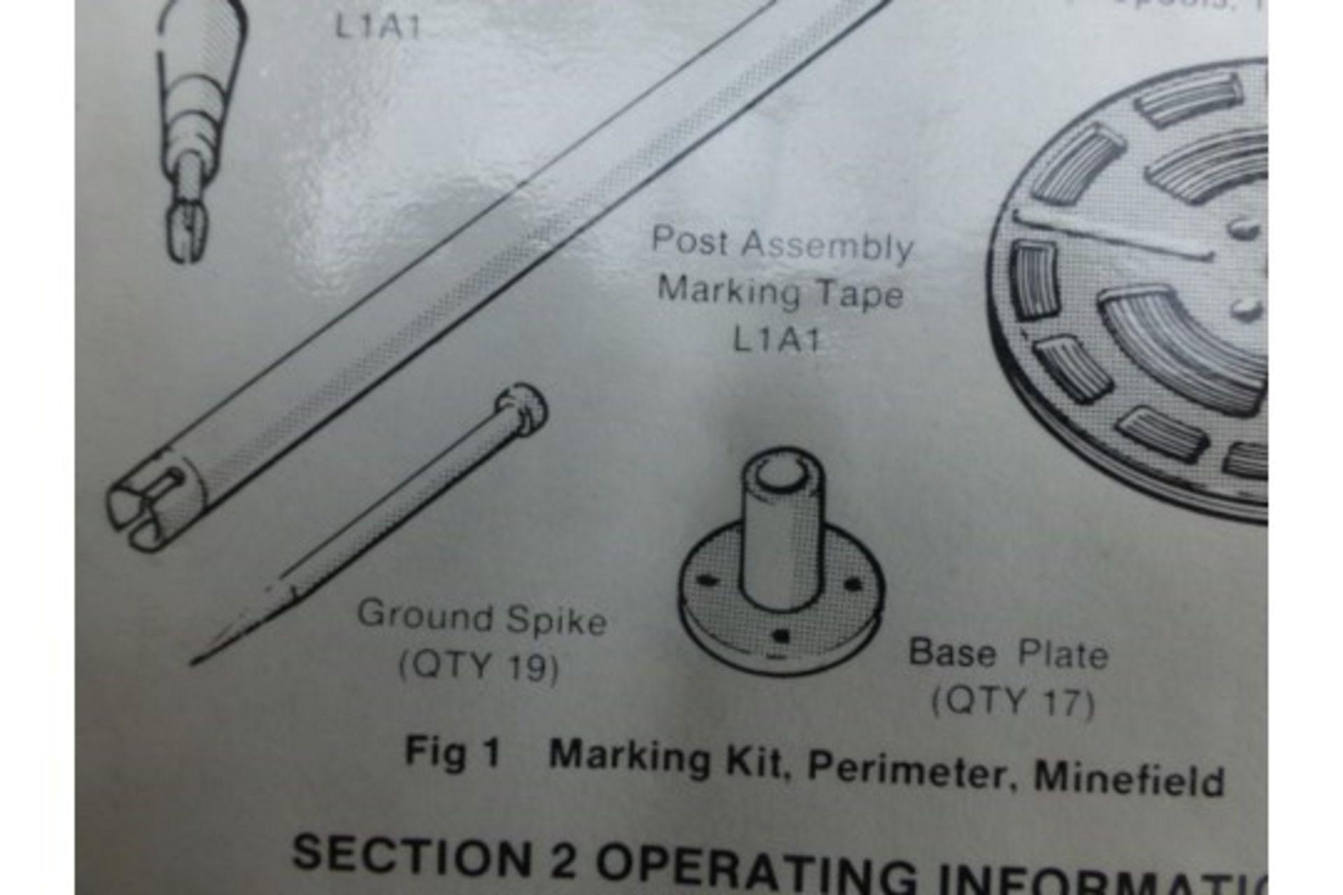 Lot 26816 - 5 x Perimeter Marking Kits