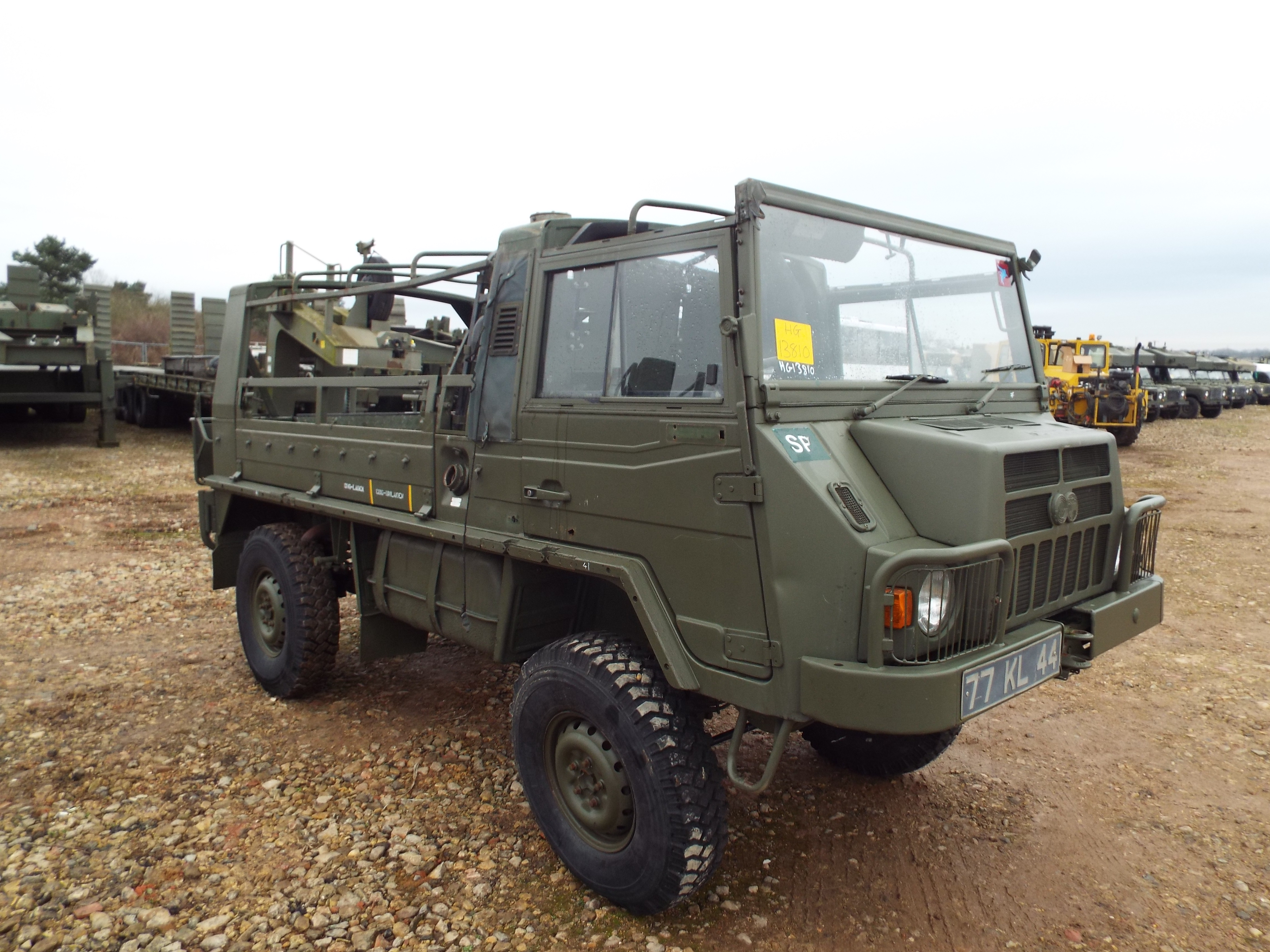 Lot 13597 - Military Specification Pinzgauer 4X4 Soft Top