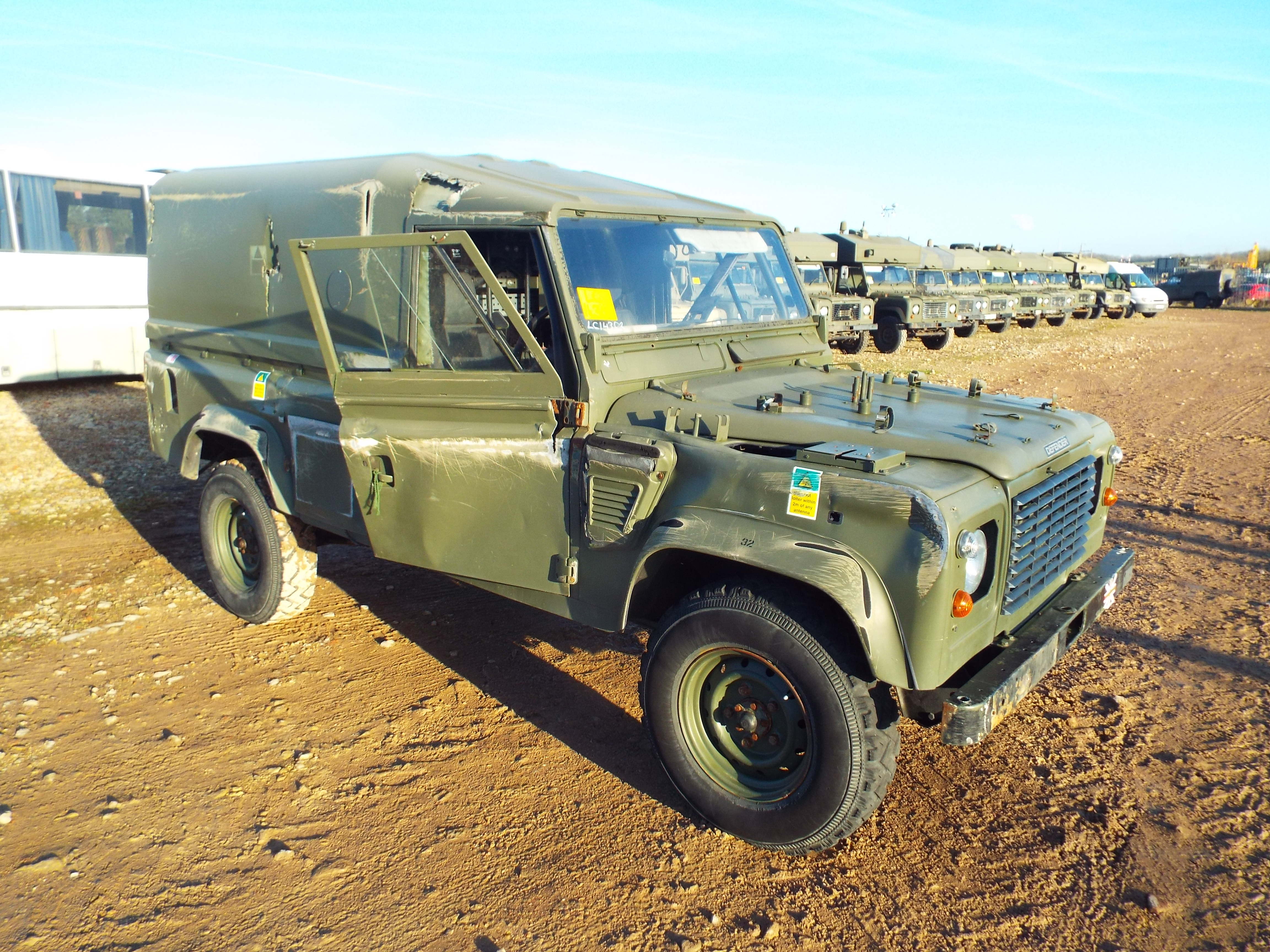 Lot 13598 - Military Specification Land Rover Wolf 110 Hard Top