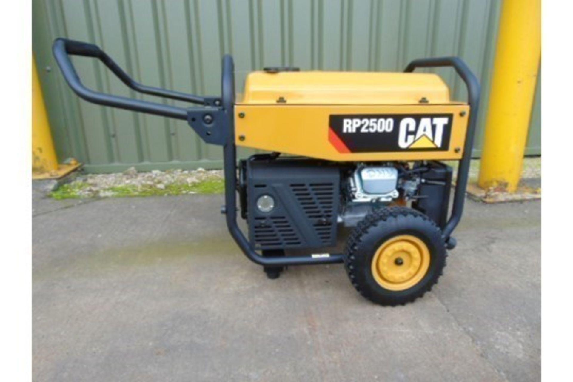 Lot 27195 - UNISSUED Caterpillar RP2500 Industrial Petrol Generator Set