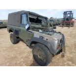 Land Rover Wolf 110 Soft Top suitable for spares or repairs