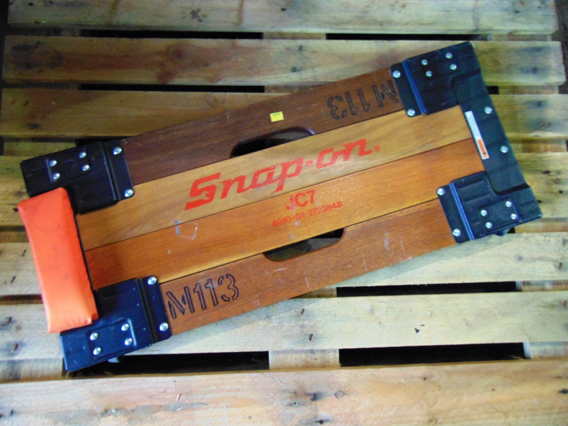 Lot 26833 - Vintage Snap On JC7 Creeper Board