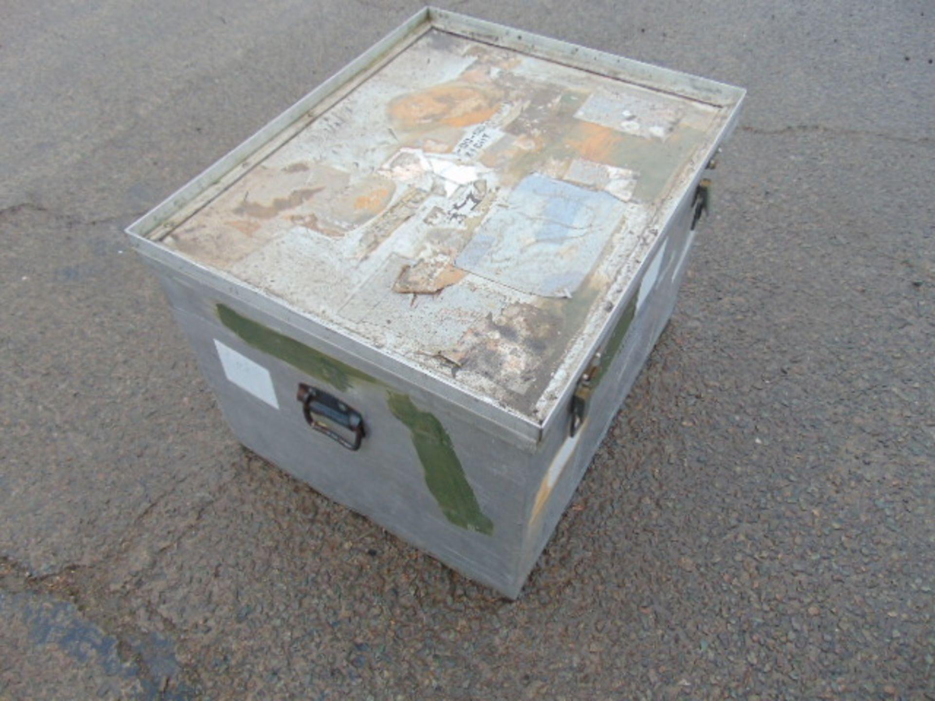 Lot 27358 - Heavy Duty Aluminium Stacking Case