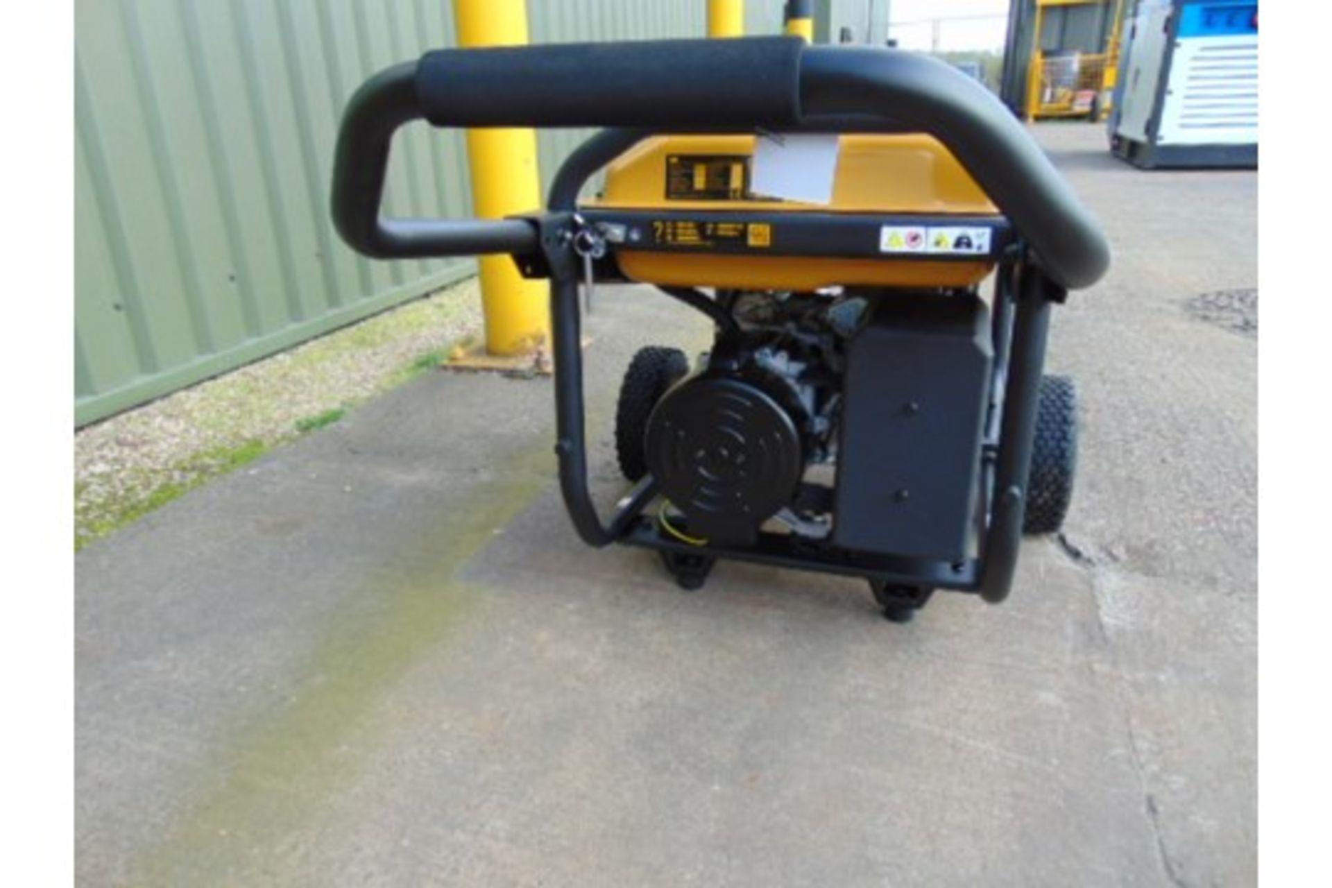 Lot 27197 - UNISSUED Caterpillar RP4400 Industrial Petrol Generator Set