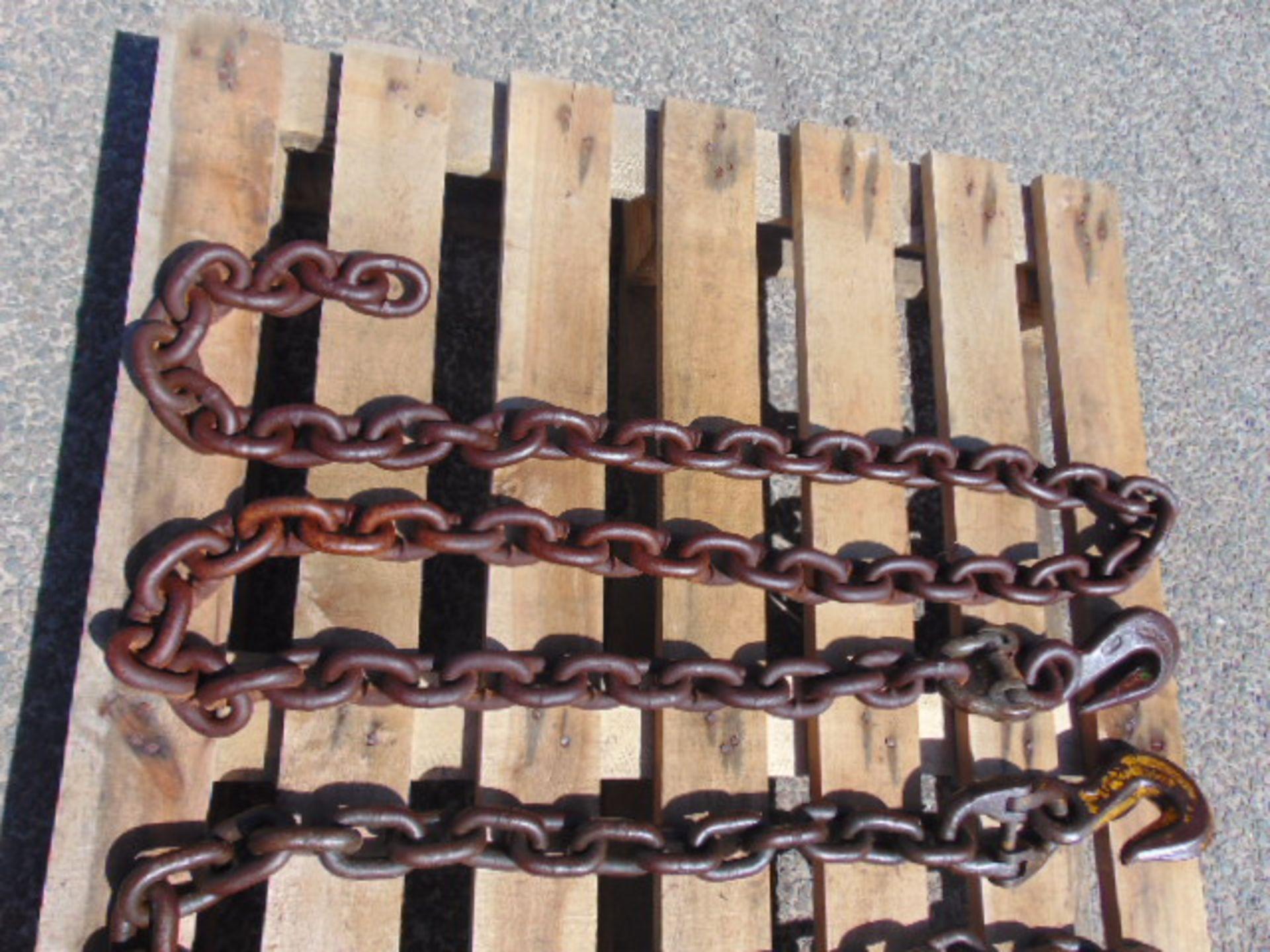 Lot 24165 - 2 x Heavy Duty Chain Assys