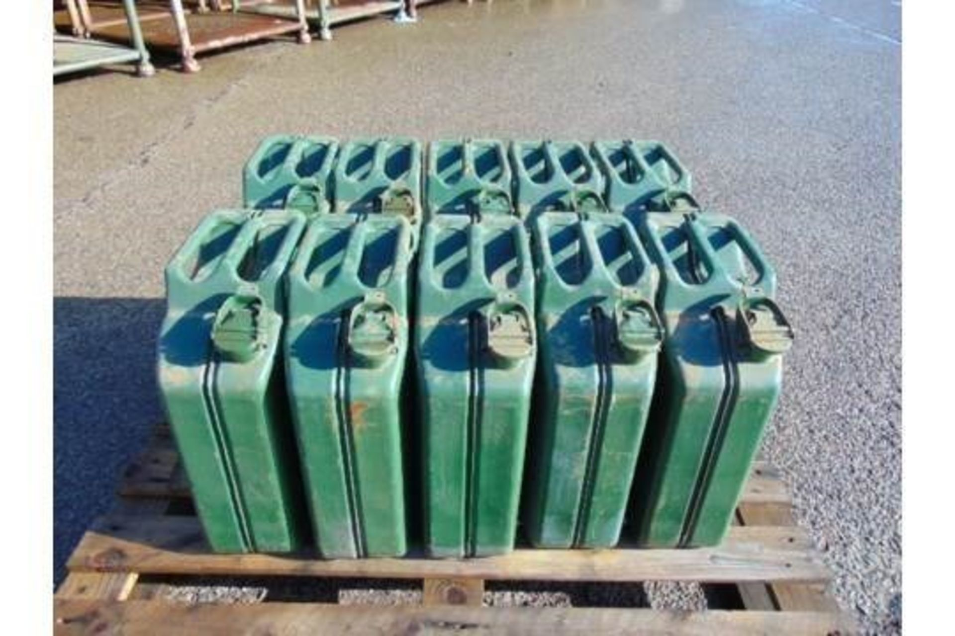 Lot 27341 - 10 x Unissued NATO Issue 20L Jerry Cans
