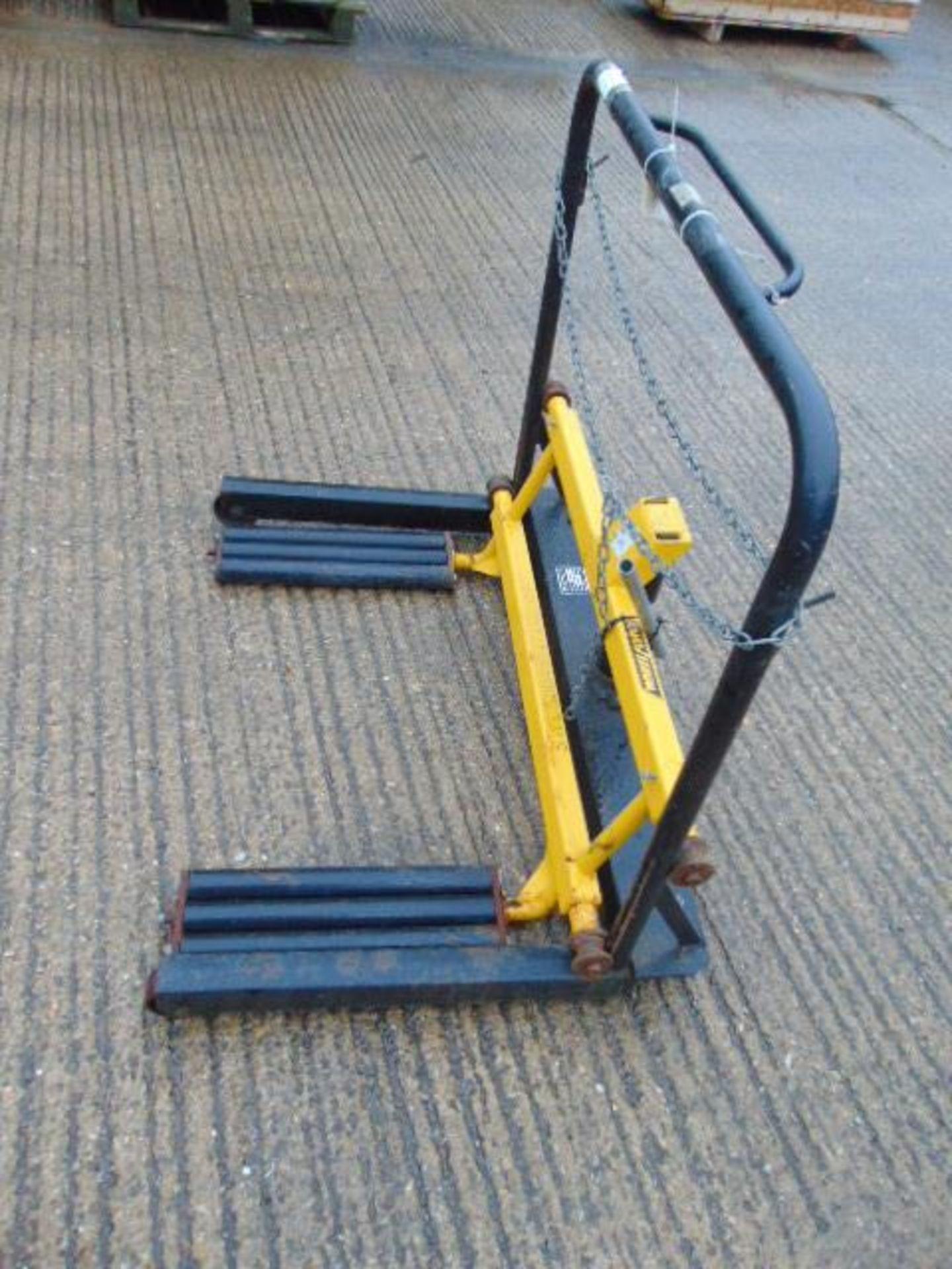 Lot 27345 - Wheelforce 500Kg Tyre Moving Trolley