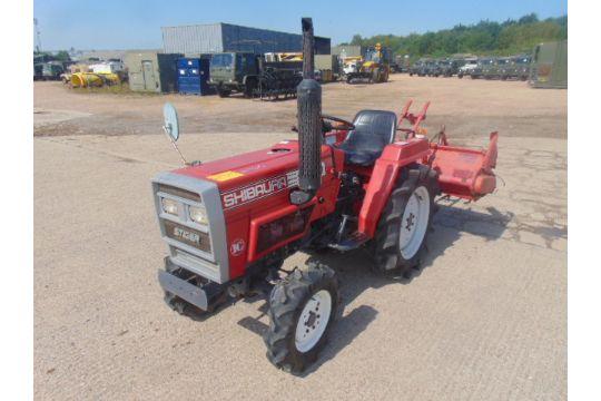 You are bidding on a Shibaura Stiger SL1643 Tractor c/w