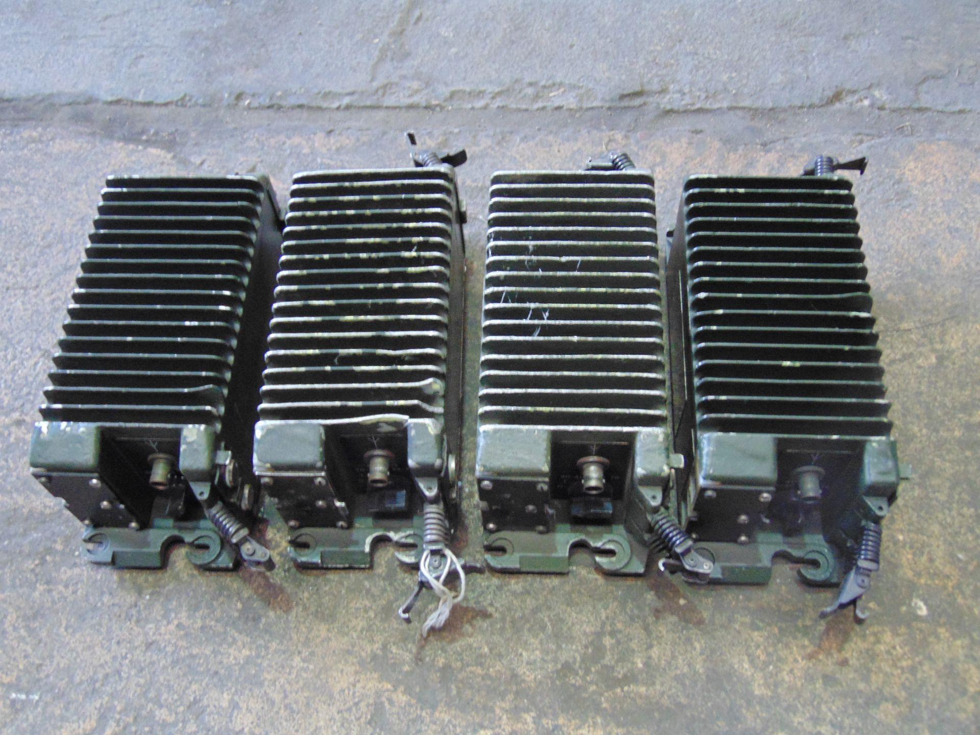 You are bidding on one lot of 4 x Clansman R F 20 Watt