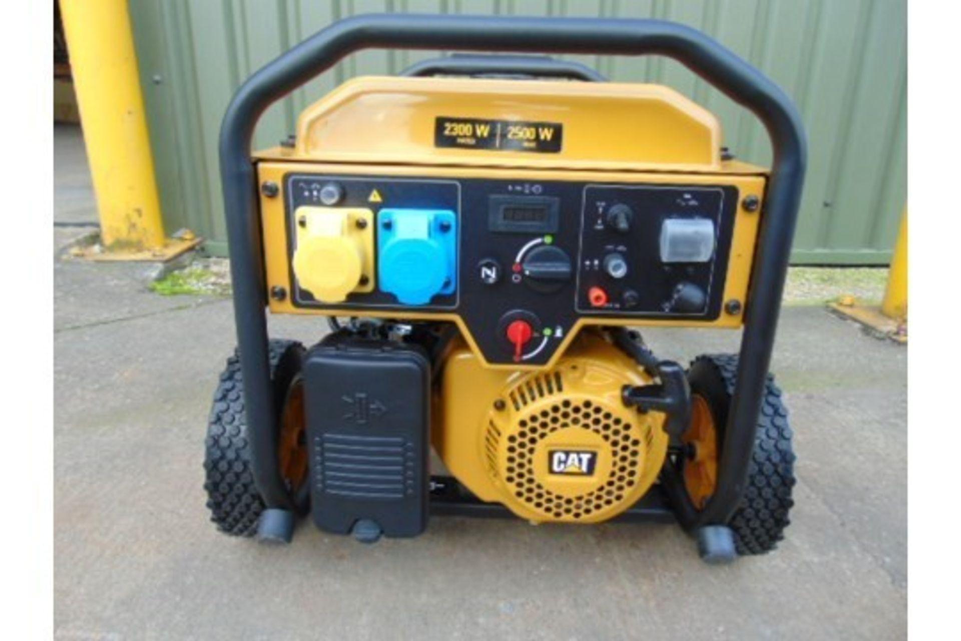 Lot 26594 - UNISSUED Caterpillar RP2500 Industrial Petrol Generator Set.