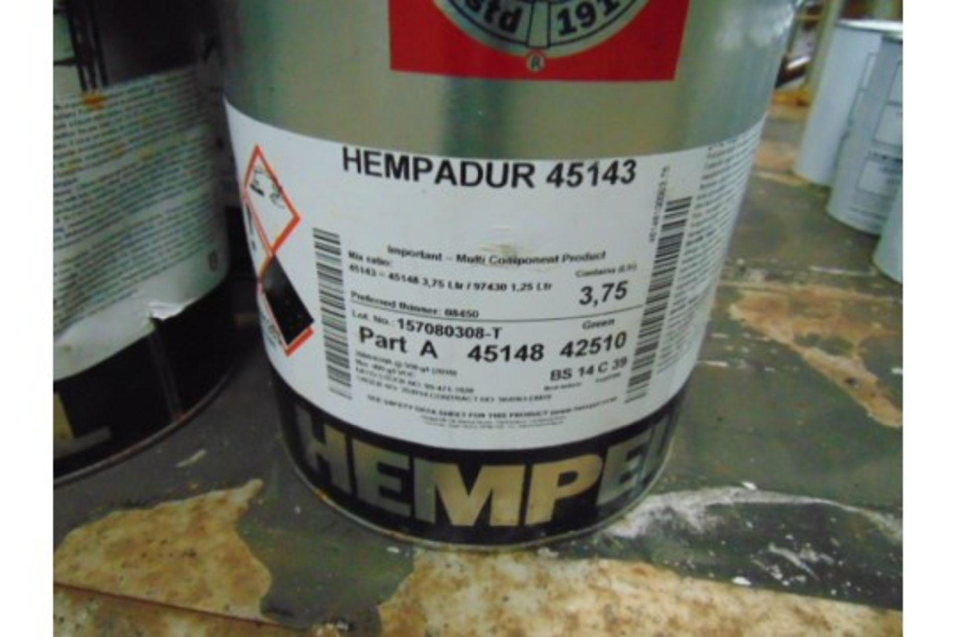 Lot 26610 - 6 x Hempadur 45153 2-Part Epoxy Paint System