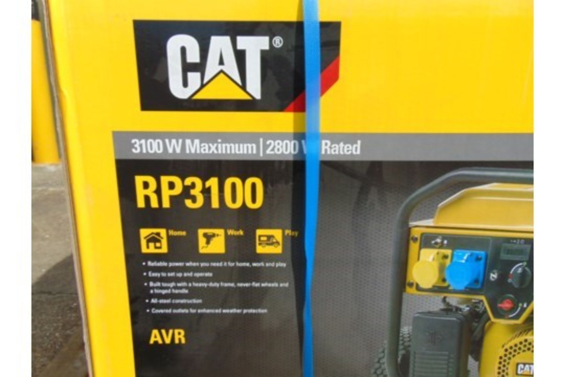 Lot 27196 - UNISSUED Caterpillar RP3100 industrial Petrol Generator Set