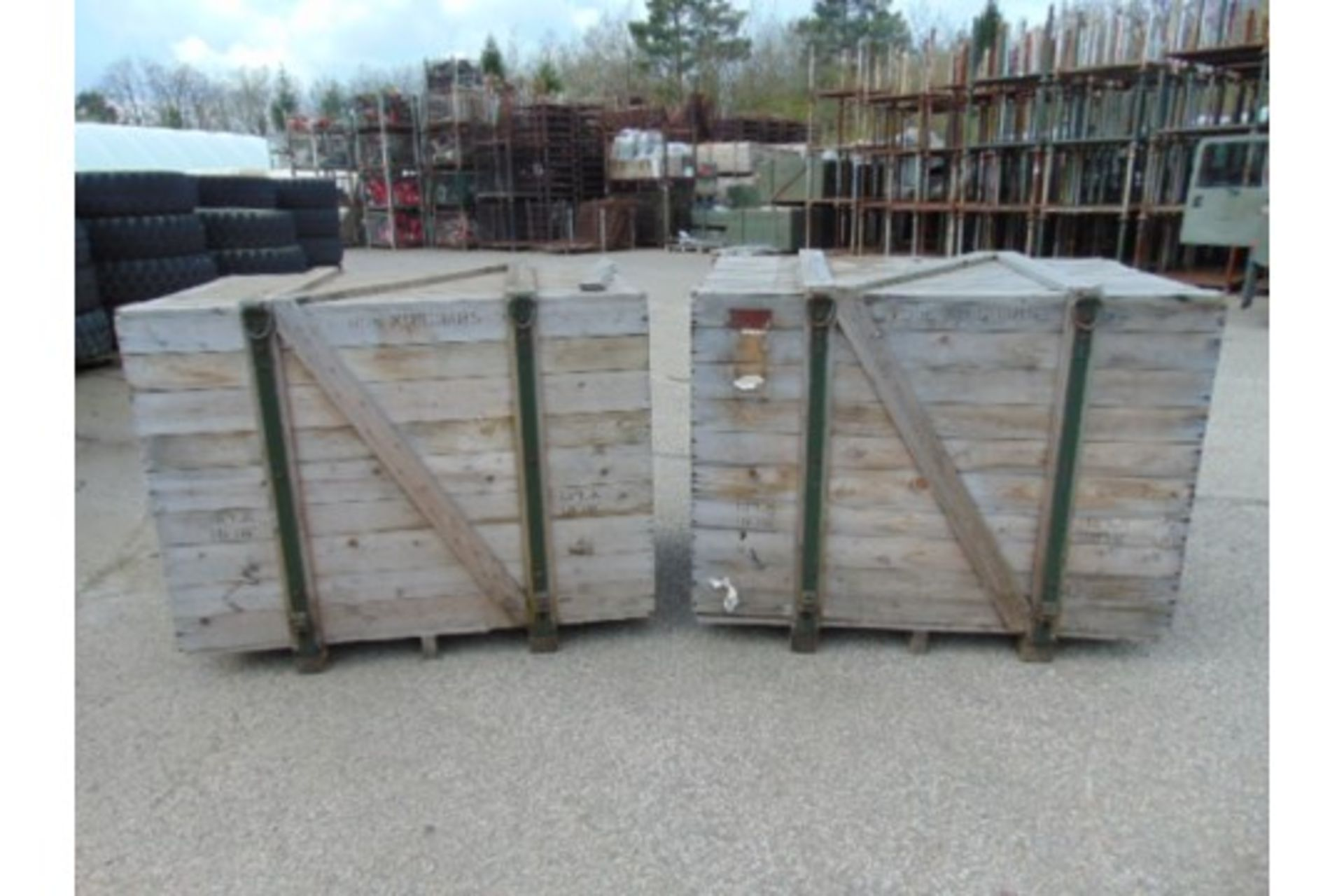 Lot 27234 - 2 x Heavy Duty Engine Crates