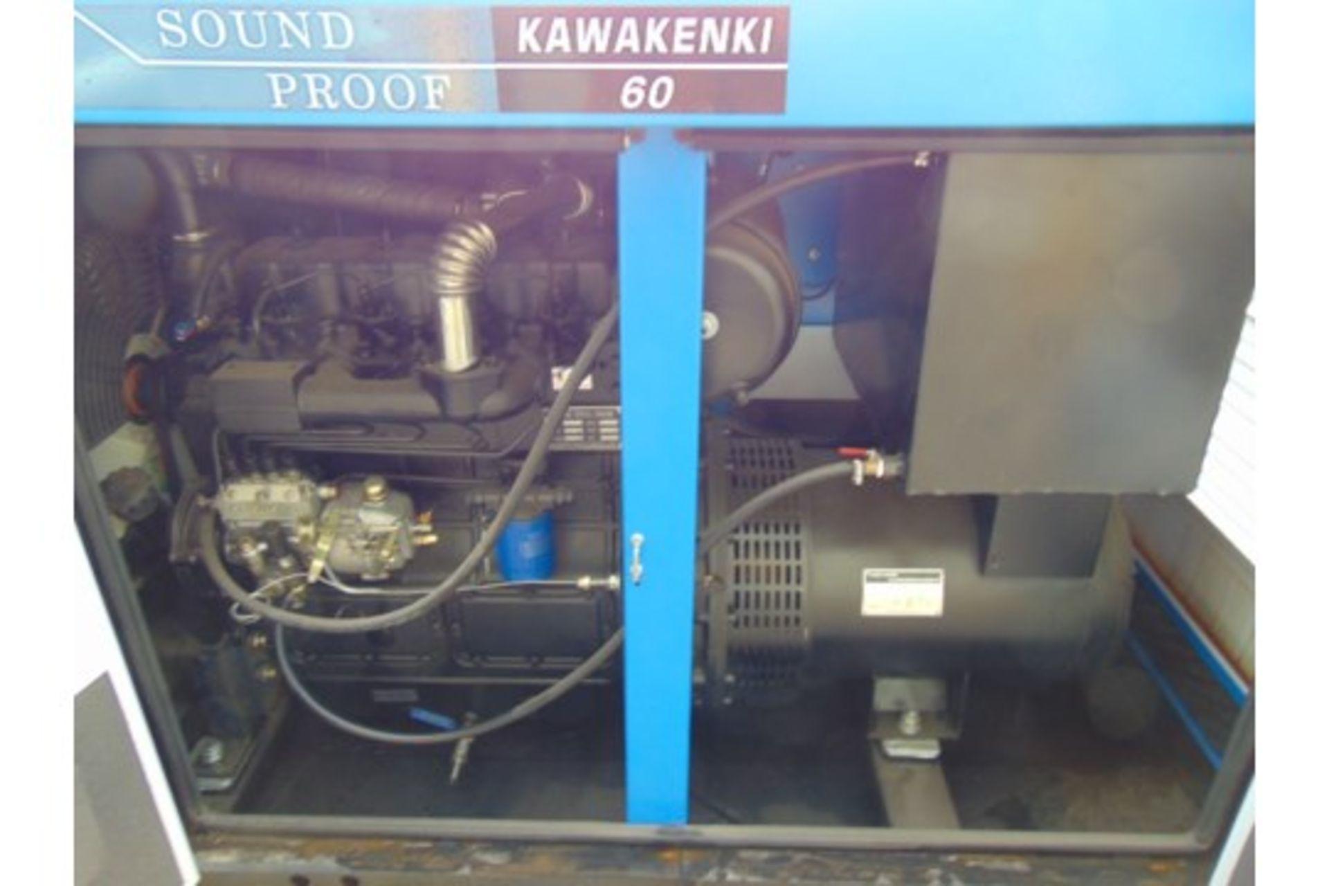 Lot 26814 - UNISSUED 60 KVA 3 Phase Silent Diesel Generator Set