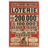 Advertising Poster French Lottery Poster 1906