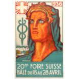 Advertising Poster Swiss Fair 1936