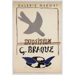 Exhibition Poster Exposition George Braque Gallery Maeght