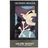 Exhibition Advertising Poster George Braque Gallery Maeght
