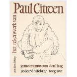 Exhibition Advertising Poster Paul Citroen