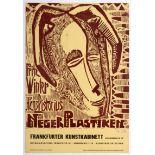 Exhibition poster Fritz Winter Hans Pistorius Hand Signed