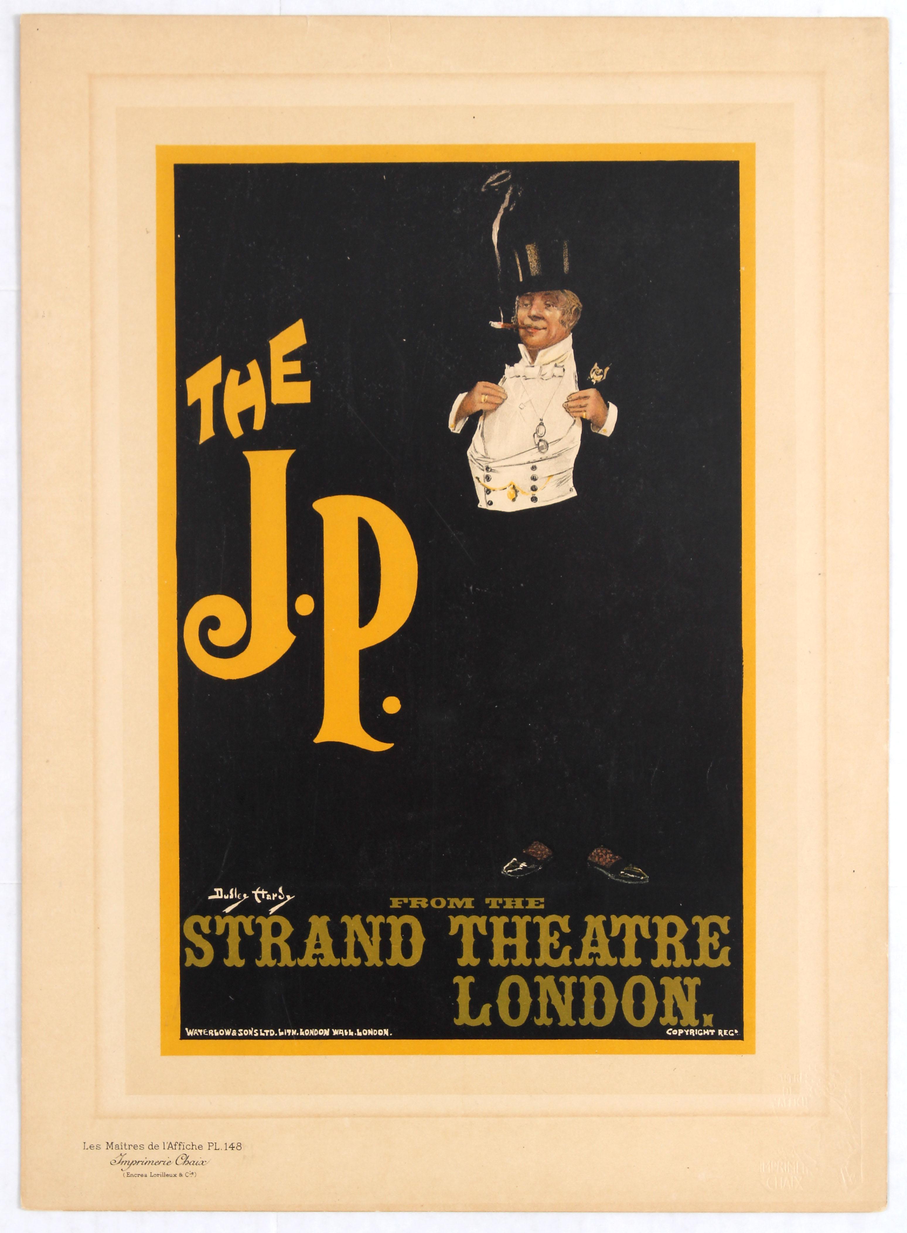 Advertising Poster Maitres de l'affiche