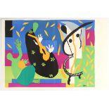Original Lithograph Print Tristesse Henri Matisse Verve 1952