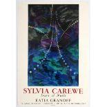 Advertising Poster Sylvia Carewe Exhibition