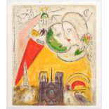 Advertising Poster Chagall Le Dimanche