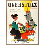 Advertising Poster Cigarettes Overstolz Knight George Him